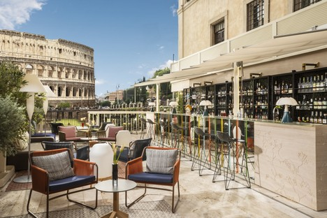 Loto Ad Project Giorgia Dennerlein Interior per Manfredi Fine Hotel Collection Roma