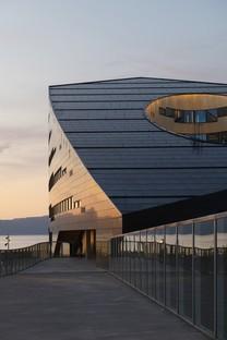 Snøhetta un edificio energetico nel Nord del mondo la Powerhouse Brattørkaia
