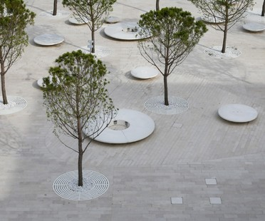 C+S Architects un intervento urbano per la Piazza del Cinema, Lido di Venezia