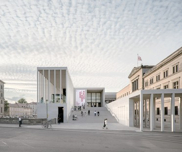 Mostra le architetture DAM Preis 2020 vince James Simon Galerie di David Chipperfield Architects