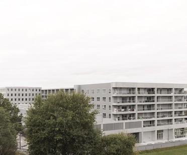 KAAN Architecten Edificio poliedrico a  Bottière Chénaie Nantes