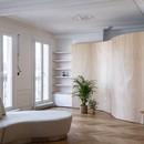 Toledano + architects Wood Ribbon interior design a Parigi