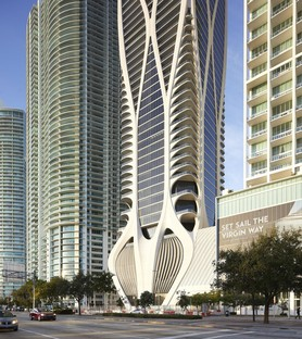 Zaha Hadid Architects One Thousand Museum un grattacielo con esoscheletro a Miami