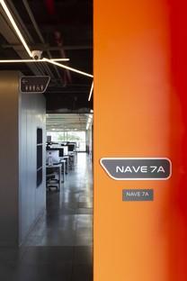 Superlimão Escola 42 interior per una scuola di informatica a San Paolo Brasile