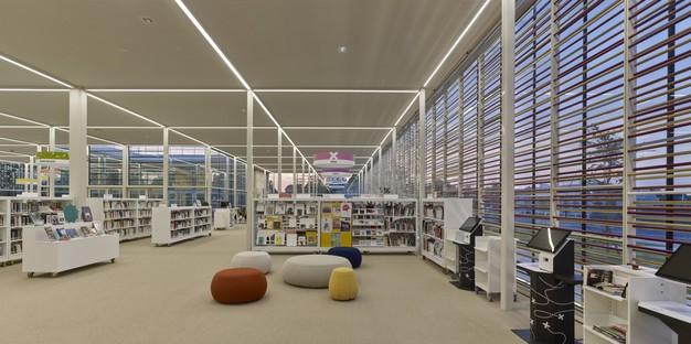 Serero Architectes Urbanistes Media Library una vetrina urbana e paesaggistica a Bayeux