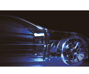 Lexus L-finesse - crystallised wind - Sou Fujimoto