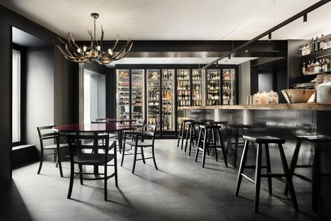 Lissoni Associati 75 Café and Lounge, Wine Bar a Ponte di Legno Brescia