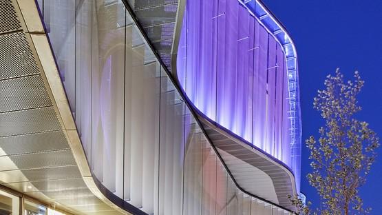 Pei Cobb Freed & Partners una nuova architettura per i giardini di Copenhagen Tivoli Hjørnet