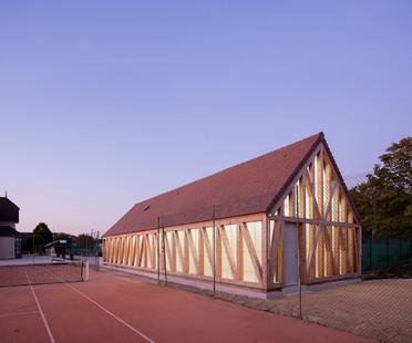 Lemoal Lemoal Architectes Nuove strutture per il Garden Tennis a Cabourg