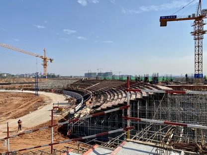 MAD Architects Architettura e paesaggio lo Quzhou Sports Park