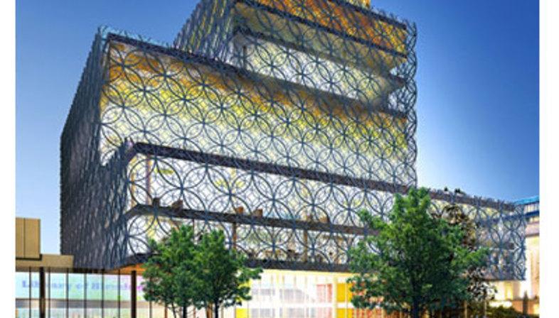 Biblioteca Civica, Birmingham - Mecanoo Architecten