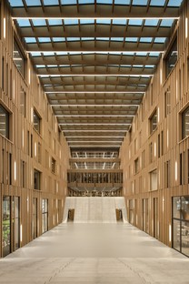 IttenBrechbühl Architects Scott Sports headquarter Givisiez Svizzera