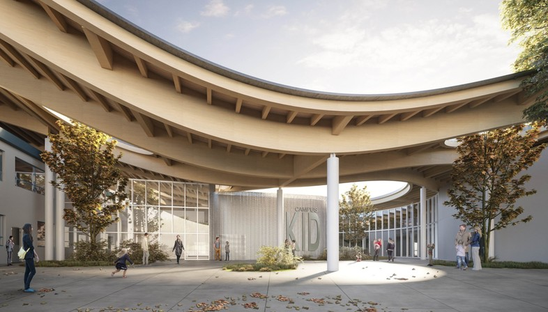 Mario Cucinella Architects Nuovo Polo scolastico Campus KID San Lazzaro di Savena