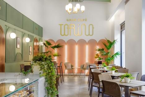 PuccioCollodoro Architetti interior design Gran Cafè Torino a Palermo
