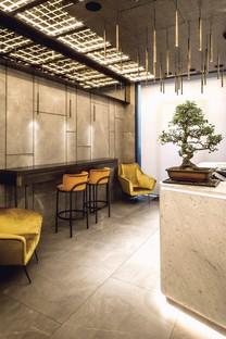 Maurizio Lai Architects interior design per AJI food delivery e take away