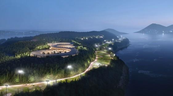 UNStudio un masterplan sostenibile per Gyeongdo Island South Korea