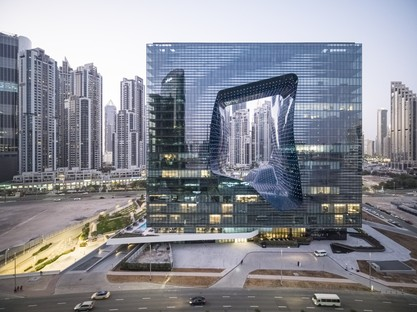 Zaha Hadid Architects ME Dubai hotel e the Opus a Dubai
