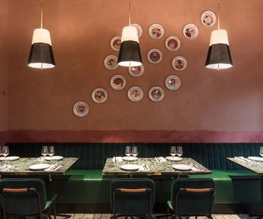 Vudafieri-Saverino Partners RØST interior design per un ristorante a Milano