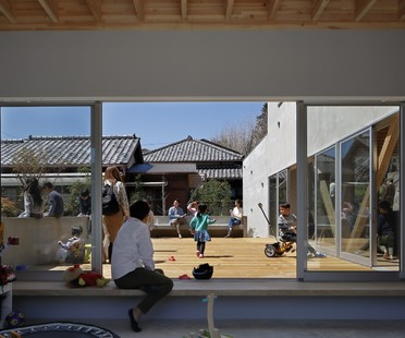 Yamazaki Kentaro Design Workshop una terrazza in città Hayama House
