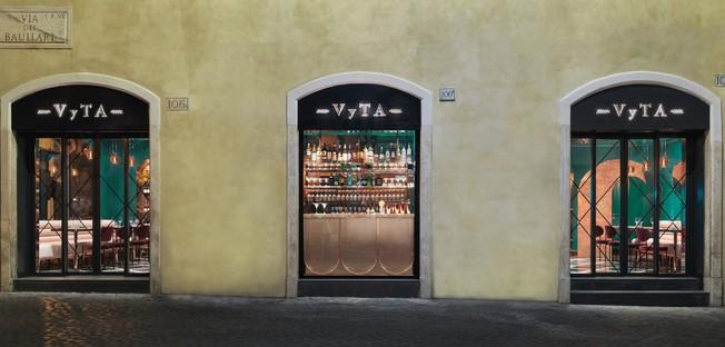 COLLIDANIELARCHITETTO interior design eclettico nel centro storico di Roma VyTA Farnese