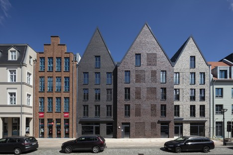 Tchoban Voss Architekten interpretazioni contemporanee di edifici tradizionali in mattoni Anklam