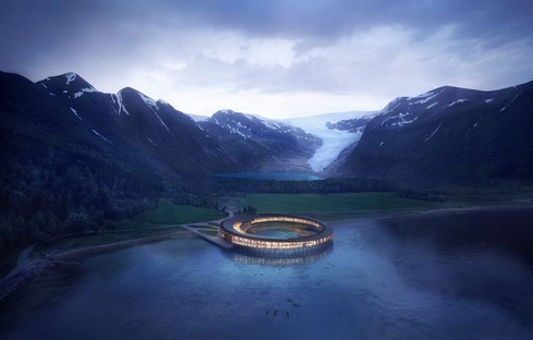 Mostra all'Aedes Architecture Forum: Arctic Nordic Alpine – In Dialogue With Landscape. Snøhetta