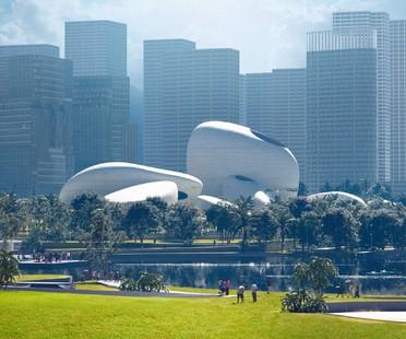 Anticipazioni sul futuro MAD svela il progetto del Shenzhen Bay Culture Park