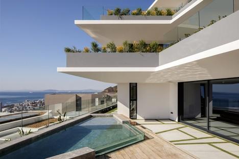 Forte Architetti Complesso residenziale Arcadia e il paesaggio di Città del Capo