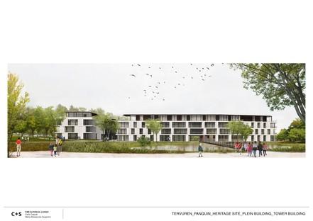 C+S Architects rigenerazione urbana del complesso Ex-Scuderie Reali di Tervuren