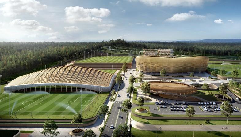 Korean National Football Centre di Seoul vince progetto UNStudio
