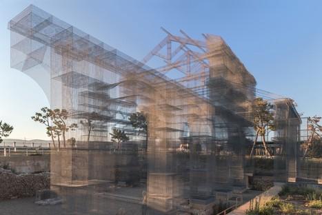 Opera nuova installazione permanente di Edoardo Tresoldi a Reggio Calabria