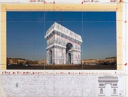 mostra CHRISTO ET JEANNE-CLAUDE - PARIS ! Centre Pompidou