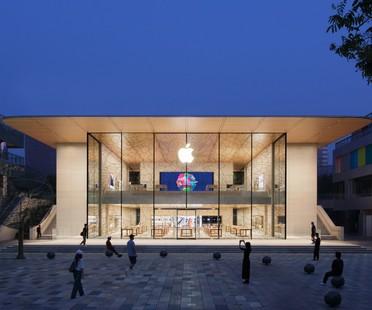Foster + Partners firma Apple Sanlitun il nuovo Apple store di Pechino