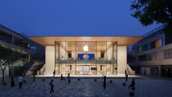 Foster + Partners firma Apple Sanlitun il nuovo Apple store di Pechino