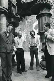 Leoni d'Oro speciali  a Calvesi, Celant,  Enwezor e Gregotti