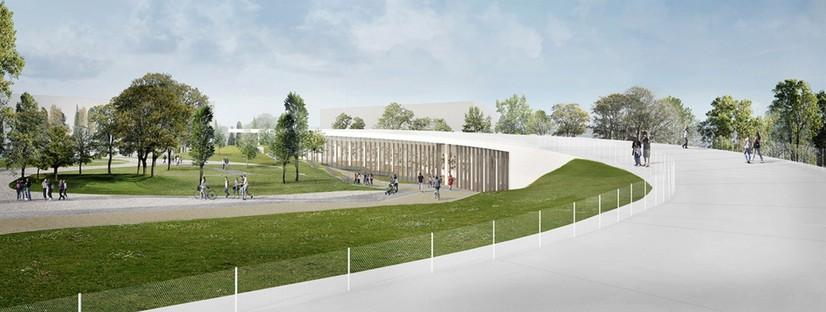 Alvisi Kirimoto Centro Civico polivalente, Asilo Nido e Parco Roma