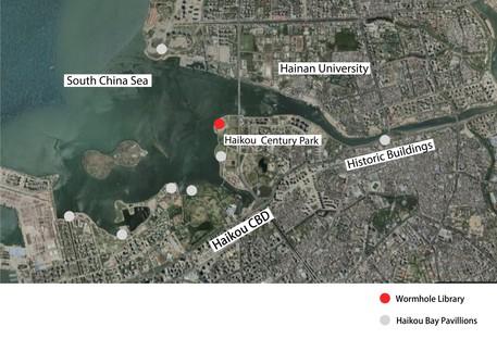 MAD Architects Wormhole Library un paesaggio da sogno a Haikou