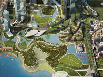 Yongsan International Business District of Seoul, South Korea - Daniel Libeskind