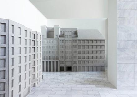 Adrian Streich Mostra  Città Analoga Architektur Galerie Berlin