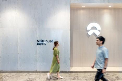 MVRDV NIO House showroom con omaggio alla città di Chongqing