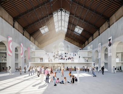 Nieto Sobejano Arquitectos Cité du Théâtre Parigi