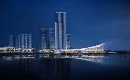 SOM progetta Jiuzhou Bay il nuovo lungomare di Zhuhai in Cina