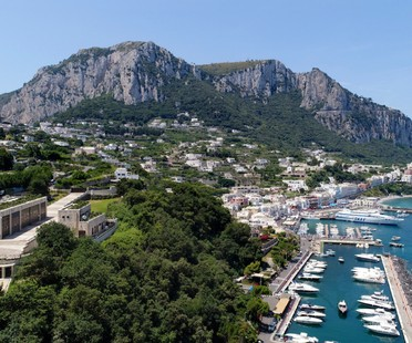 Inaugurata la Stazione elettrica di Terna a Capri progetto di Frigerio Design Group