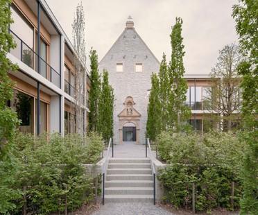 David Chipperfield Architects riconversione e recupero di un complesso storico Jacoby Studios Paderborn