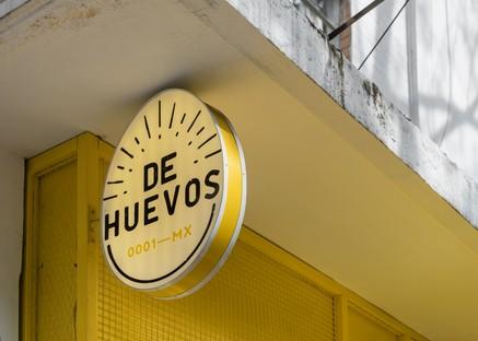 Città del Messico De Huevos nuovo concept gastronomico di Cadena Concept Design