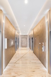 Iosa Ghini Associati interior design del Brickell Flatiron di Miami