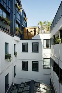 Silvio d'Ascia Architecture Hotel Wallace Parigi