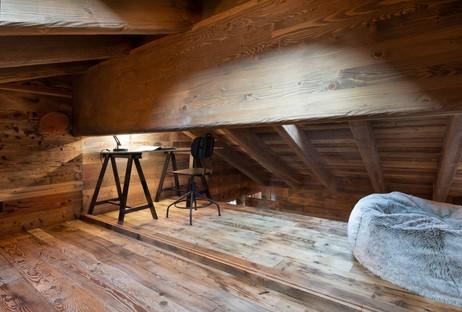 Giuseppe Tortato Architetti Interior di Montagna, uno chalet sulle Alpi