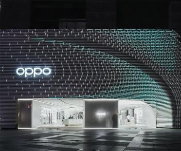 UNStudio flagship store di Oppo a Guangzhou