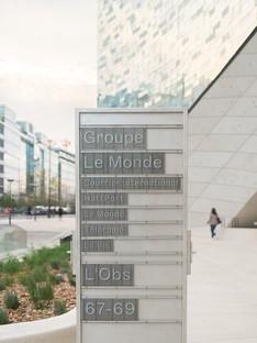 Snøhetta Headquarter Le Monde Group Parigi